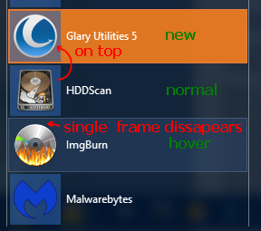 Shows icon frame on top of new selector.png